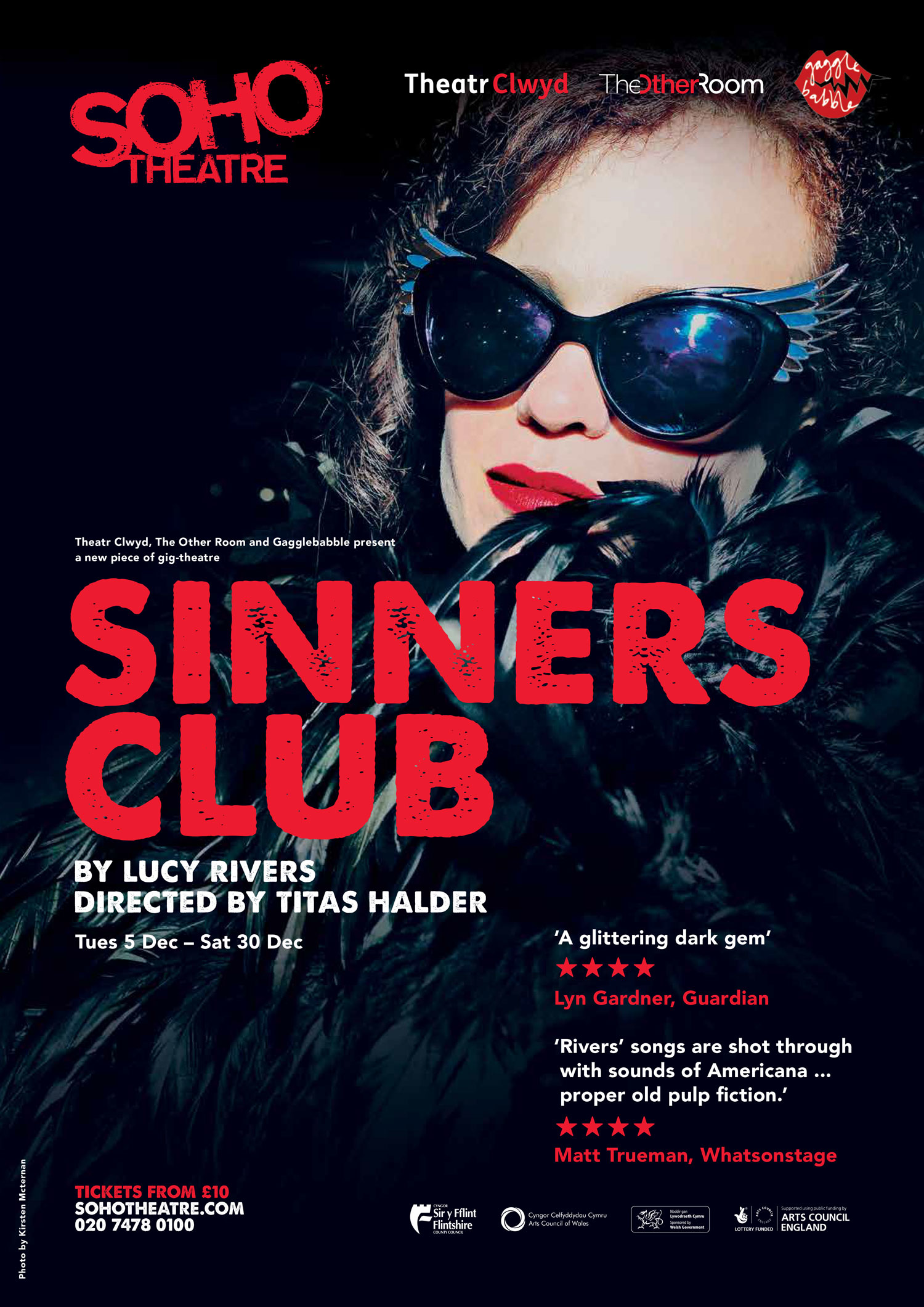 Sinners Club at the Soho Theatre